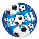 "Goal! 9"" Paper Plates / 10"