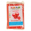 FunCakes Strawberry Flavoured Fondant Red, 250g