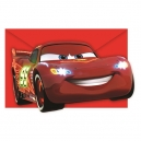 Cars Neon Invitations and Envelopes / 6