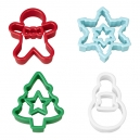 Large Christmas Tree and Mini Star Cookie Cutters