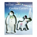 The Snowman and The Snowdog Cookie Cutter Set