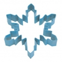 Large Snowflake Cookie Cutter Blue, 13 cm