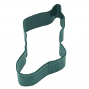 Green Stocking Cookie Cutter, 11.4 cm