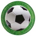 "Football Party 9"" Paper Plates / 8"