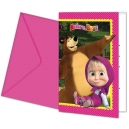 Masha and The Bear Invitations and Envelopes / 6