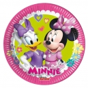 "Minnie Happy Helpers 8"" Paper Plates / 8"