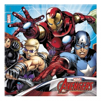 Avengers (Mighty Avengers) - 2-kihilised salvrätid, 20 tk