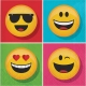 Show Your Emojions Lunch Napkins 2 ply / 16