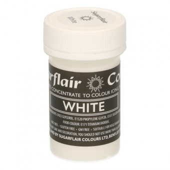 White Pastel Concentrated Paste Colour, 25g