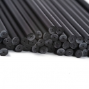 Lollipop Sticks Black, 11.4 cm / 20