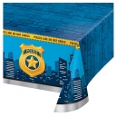 Police Party Plastic Tablecover, 137x274cm