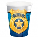 Police Party Paper Cups / 8
