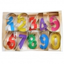 Numbers Cookie Cutter Set