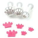 Crowns - Mini Plunger Cutter Set / 3