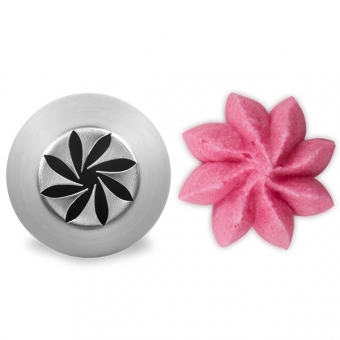 Curved Flower Nozzle