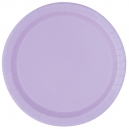 """Hot Pink 9"""" Paper Plates / 16"""