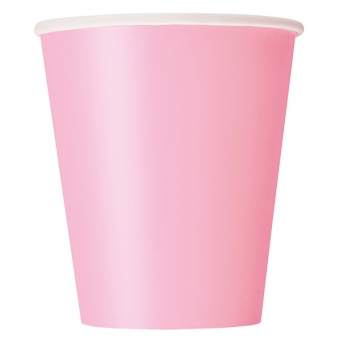 Lovely Pink Paper Cups 266ml / 14