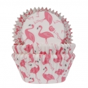 Flamingo Baking Cases / 50