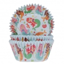 Mermaids Baking Cases / 50
