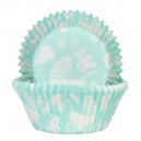 Newborn Mint Baking Cases / 50