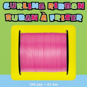 Curling Ribbon Hot Pink, 90m