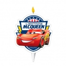 Lightning McQueen Birthday Candle
