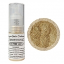 Sugarflair Pump Spray Glitter Dust Extreme Gold, 10g