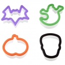 Wilton Grippy Bagged Cutter Set Halloween Set / 4