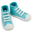 Edible Cake Topper High Cut Sneaker Blue