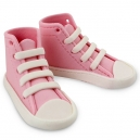 Edible Cake Topper High Cut Sneaker Pink