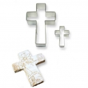 Cookie&Cake Cross Cutter Set / 2