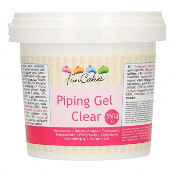 FunCakes Clear Piping Gel, 350g