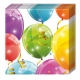 Sparkling Balloons Paper Napkins 2 ply / 20