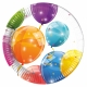 "Sparkling Balloons 7"" Paper Plates / 8"