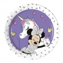 "Minnie Unicorn 7"" Paper Plates / 8"