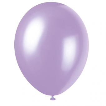Lovely Lavender Latex Balloons / 8 CT