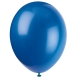 Evening Blue Latex Balloons / 10 CT