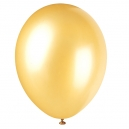 Champagne Gold Latex Balloons / 8 CT