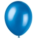 Cosmic Blue Latex Balloons / 8 CT