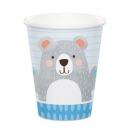 Birthday Bear Paper Cups / 8