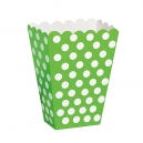 Treat Boxes / 8 Lime Green