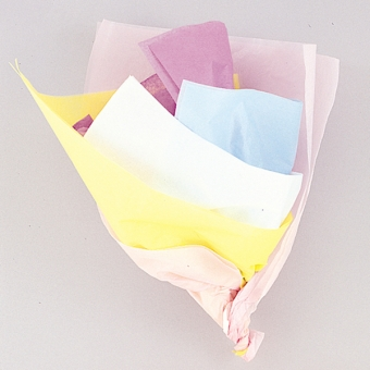 Assorted Pastel Tissue Sheets, 10 ct