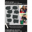 Chalkboard Photo Props with Chalk
