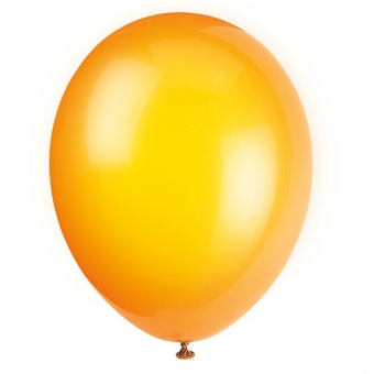Citrus Orange Latex Balloons / 10 CT