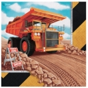 Big Dig Construction Lunch Napkins 2 ply / 16