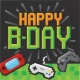Gaming Party (Happy Birthday) - Lunch Napkins 2 ply / 16