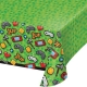 Gaming Party Plastic Tablecover, 137x259cm