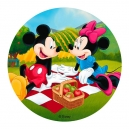 Mickey & Minnie Edible Wafer Cake Topper, 20 cm