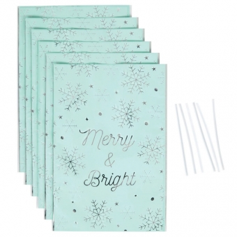 Treat Bags Merry and Bright / 6