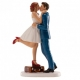 Wedding Couple Forever, 16 cm - non-edible wedding decoration